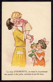 French Women Postcards Vintage