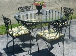 Meadowcraft Patio Furniture Cushions by Vintage Wrought Iron Patio Furniture Cushions For Sale Meadowcraft