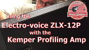 Best Frfr Cabinet For Kemper by Using The Electro Voice Zlx 12p With The Kemper Youtube