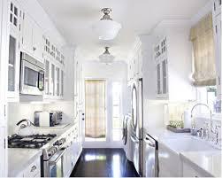 alluring galley kitchen lighting houzz in find your home