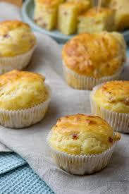 alle lieben diese käse schinken muffins als snack oder auf