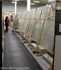 slate tile displays at the tile shop tileshop all things g d