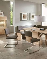 acerro esszimmer eckbank und moderne freischwinger stühle