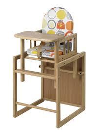 chaise bebe table nico de geuther peut s utiliser en chaise haute ou en chaise pour