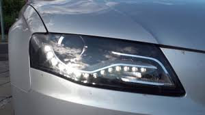 change or remove headlights on a audi a4 b8