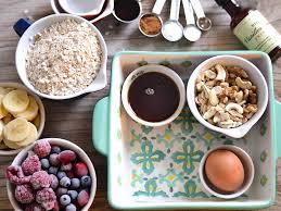 frühstücksauflauf mit haferflocken baked oats oder baked