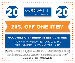 City Heights Store Coupon   Goodwill Industries Of San Diego ... Revolution Coupon Code Finish Line Phone Orders City Heights Store Coupon Goodwill Industries Of San Diego Farfetch Coupons Promo Codes October 2019 30 Off College Book Rental 2018 Barnes And Noble Intertional Asos Discount 25 Off Zipcar Deals Groupon For 6pm Late Night Restaurants Near Me Everything You Need To Know About Online Scrubs Beyond Todays Discounts Cabelas Frankenmuth Redbus Offers Rs300 10 Cashback