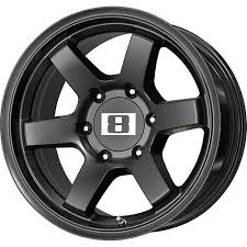 100 Discount Truck Wheels 2 NEW 16X8 0 Offset 6x1397 LEVEL 8 MK 6 Black Rims 16 Inch