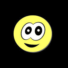 Yellow Laughing Happy Smile Face Smiley Ball On Background