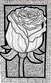 Lines Of The Rose By Iguruwashi DevianrtArt Coloringpage Pattern DrawingAdult ColoringColoring BooksColouringAnti StressDisney