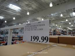 Kirkland Brand Patio Furniture by Woven Wicker Outdoor Lp Patio Heater