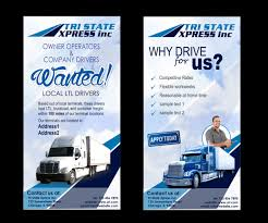 Trucking Company Flyer Design For A Company By HollyBlue Studio ... Hc Truck Drivers Tippers Driver Jobs Australia 14 Steps To Be Better If Everyone Followed These Tips For Females Looking Become Roadmaster Portrait Of Forklift Truck Driver Looking At Camera Stacking Boxes Ups Kentucky On Twitter Join Our Feeder Team Become A Leading Professional Cover Letter Examples Rources Atri Discusses Its Top Research Porities For 2018 At Camera Stock Photos Senior Through The Window Photo Opinion Piece Own The Open Road Trucking Owndrivers