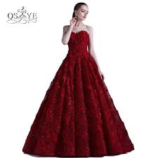 compare prices on burgundy formal evening gown online shopping