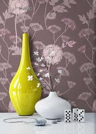 newroom vliestapete blumentapete lila rosa wallpaper floral blumen tapete pflanzen wohnzimmer schlafzimmer büro flur kaufen otto