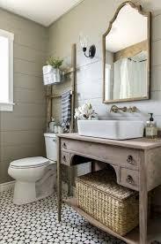 55 stunning modern farmhouse bathroom design ideas and