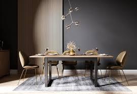 newroom esstisch vincent ausziehbar 160 200 cm inkl tischplatte anthrazit wildeiche vintage landhaus küchentisch speisetisch esszimmer