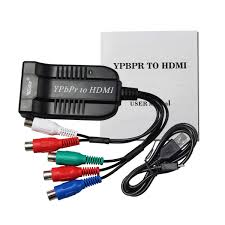 Amazoncom Female YPBPR RGB Component Video Audio To HDMI Converter
