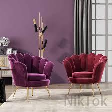 nordic luxus wohnzimmer stühle einzigen sofa kleine wohnung