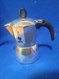 Bialetti Dama Stove Top Espresso Maker 3 Cup W NEW Extra Spare Parts