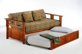 bedroom daybed trundle wood daybed dark wood trundle bed