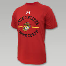 usmc ega under armour tech t shirt