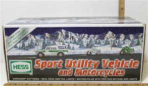 2004 Hess Sport Utility Vehicle & And Similar Items Hess Oil Co 2004 Miniature Tanker Truck Toysnz Hessother Toy Lot Of 23 In Original Boxes 40th Anniversary Suv With 2 Motorcycles Ebay 2016 And Dragster Gift Ideas Pinterest Hess Review By Mogo Youtube Fun For Collectors The 2017 Trucks Are Minis Mommies Style Cheap Share Price Find Deals On Line At Sport Utility Vehicle Similar Items And Toys Values Descriptions Set Of 3 2003 2012 Sale