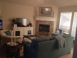 Living Room Layout With Fireplace by Love This Corner Fireplace Living Room Layout Especially With The