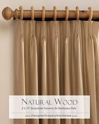 Decorative Traverse Rods With Pull Cord by Best 25 Natural Curtain Poles Ideas On Pinterest Branch Curtain