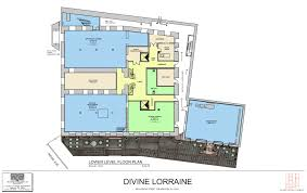 Floor Plan For A Restaurant Colors Here Are More Divine Lorraine Floor Plans To Ogle Over Curbed Philly