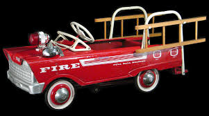 Antique Pedal Cars 1950   Vintage1960s Murray Super Deluxe Fire ... 60sera Fire Truck Pedal Car Blue Moon Fall Auction Owls Head Transportation Museum Rare Lg Pedal Firetruck Wbadge On Rear Niwot Ride On Firetruck The Land Of Nod Ornament 3d 24kt Gold Plated White House Gift Gearbox Volunteer Riding 124580 Limited Edition 19072999 Engine No 8 Collectors Weekly Wheres Fire Truck Pedal Car Gear Richard Hall 1927 Gendron Kids Showtime Services Novelty Toy 39 Long Complet By Insteprideon Youtube