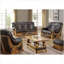 canapé cuir et bois rustique canapé cuir et bois rustique à vendre salon cuvette canapé