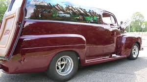 100 Ford Panel Truck For Sale 1951 F1 4 Chop406 Small Block W 500hp