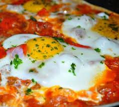 cuisine rapide pour le soir bayd ou maticha oeufs à la tomate les recettes de la cuisine de