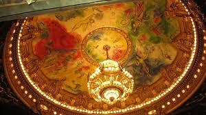 plafond de l opéra peinture de marc chagall picture of palais