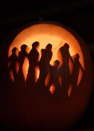 Walking Dead Pumpkin Stencils Printable by Horror Pumpkin Carvings Are Too Scary For The Weak Hearted