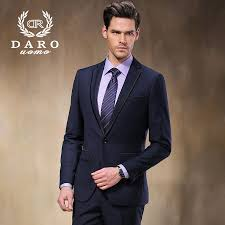 Brand DAROuomo Fashion Dress Blazer Men Suits SpringAutumn Outerwear Business Wedding Party DR8618