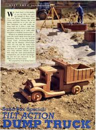 wooden toy truck plans u2022 woodarchivist