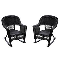 Jeco W00207R-D_2 Set Of 2 Wicker Rocker Chairs Black Kampmann Outdoor Wicker Rocking Chair With Cushions Harmony Patio Blackwhite Mesh Cast Alinum Frame On Porch Black Resin Indoor Chairs Elegant 52 Currituck Sophisticated Relaxing Ratan Fniture Acceptable Antique Prices Buy Pricesratan 3pc Rocker Set With Brick Red Cushion Intertional Caravan San Tropez Gliders Rockers Sale Kmart Childrens