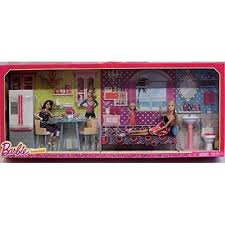 Barbie Doll Dreamhouse Furniture Giftset Bathroom Bedroom Kitchen
