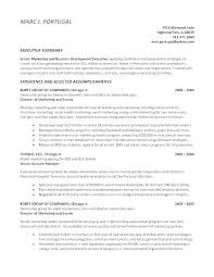Sample Resume For Executive Director Of Nonprofit Combined With Summary