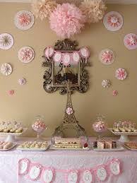 Pink White And Gold Birthday Decorations by Paris Theme Table Decoration Would Be Nice In Gold Tablescapes