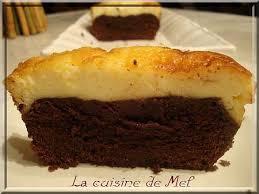 cake bi couche au chocolat mascarpone la cuisine de mél