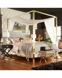 Gold Canopy Bed Home Design