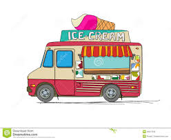 100 Ice Cream Truck Number Cream Truck Stock Vector Illustration Of Cream Ice 32917640