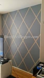 Diamond Pattern Weekend Painting DIY