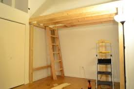 Build Loft Bed Ladder by How To Build A Loft Diy Step By Step With Pictures