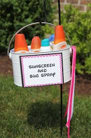 13 A Sunscreen And Bug Spray Station Will Keep Everyone Protected From Summers Pests