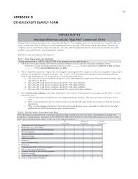 100 Dac Report For Truck Drivers Appendix D Other Expert Survey M Individual