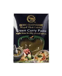 pâte de curry vert thai blue elephant edélices