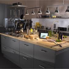 cuisine noir mat ikea cuisine noir mat et bois idées décoration intérieure farik us
